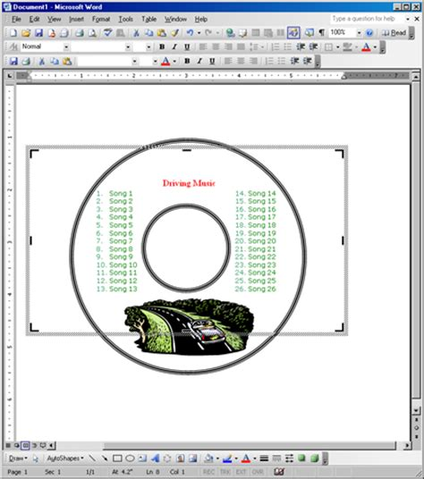 free label maker template create your own cd and dvd labels using free ms word templates