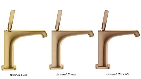 Bathroom Design Trends by Bathroom Trends Warm Metallics Cp Hart