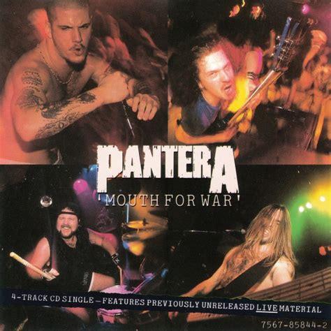 Cd The Panturas pantera for war cd at discogs