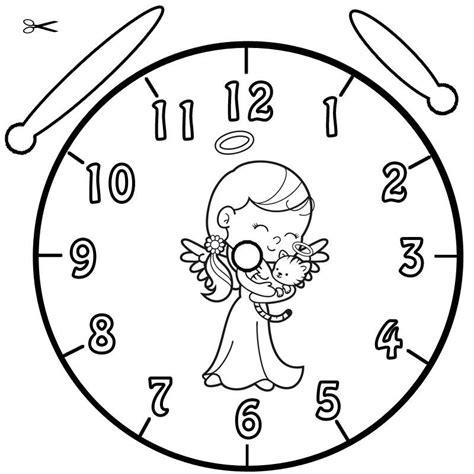 Kostenlose Vorlage Engel Ausmalbild Uhrzeit Lernen Ausmalbild Engel Kostenlos Ausdrucken