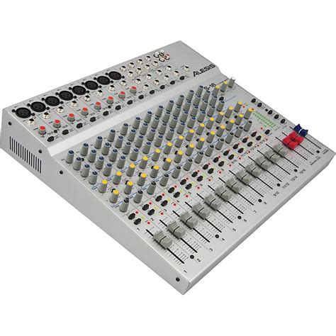 Mixer Crimson 16 Channel alesis s 16 16 channel compact mixer music123