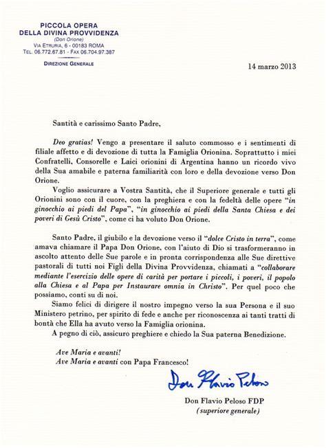 lettere a papa francesco don orione lettera a sua santit 224 il papa francesco