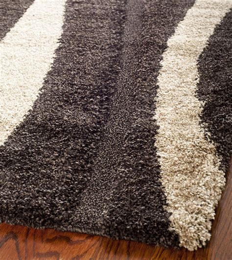 Safavieh Florida Shag Sg451 2813 Dark Brown And Beige Area Brown And Beige Area Rug