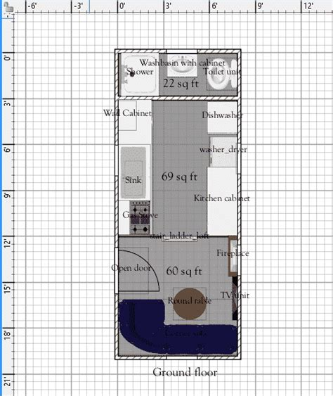 free tiny house plans 8 x 20 free tiny house plans tiny free tiny house floor plans 8 x 20 house plan with