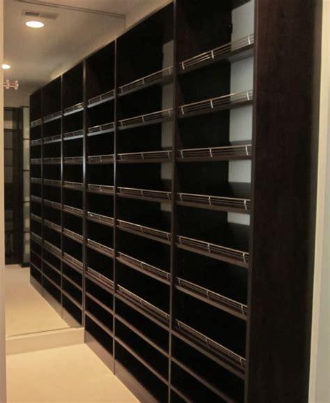 custom closet shoe storage custom shoe wall bedroom search stephan 9 shoe