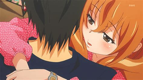 anime golden time dub last hug golden time gif 126413