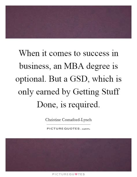Is Mba Necessary To Succeed In Business when it comes to success in business an mba degree is