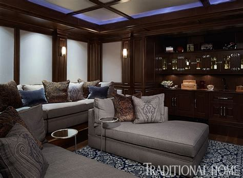 media room chaise lounges tour giuliana bill rancic s chicago brownstone