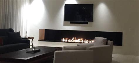Superbe Photo De Cheminee Moderne #3: Television-cheminee-ethanol-design-afire-1024x469.jpg