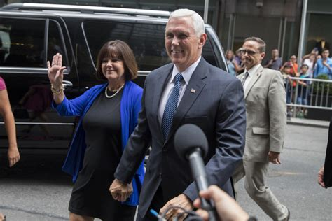 pence and wife to get tour of new digs pence may bring establishment stability to trump ticket
