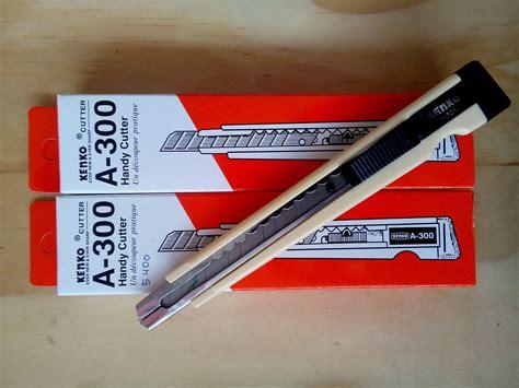 Cutter Kenko A 300 A Cutter Kecil jual cutter kenko a300 anugrah stationery
