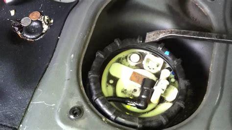 fuel pump filter youtube