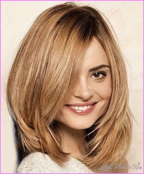 hairstyles for shoulder length hair with layers for school medium length haircuts with layers latestfashiontips