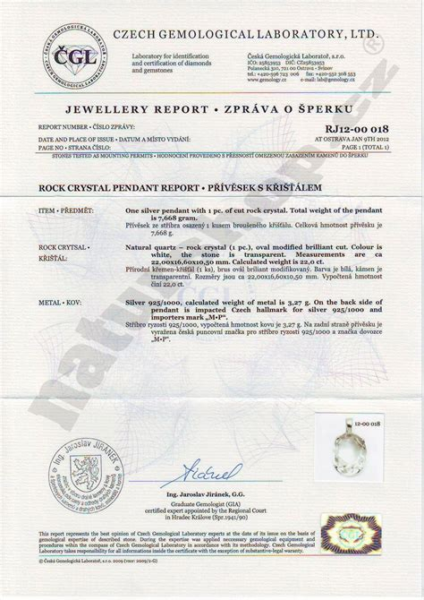 jewelry design certificate programs nyc jewelry certificate of authenticity sle gallery
