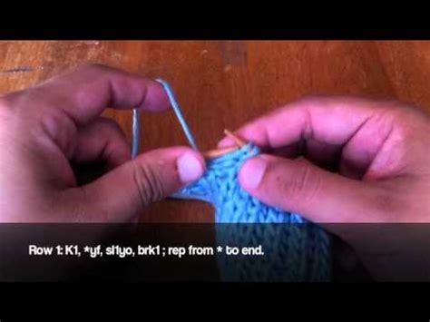 how to knit left handed how to knit left handed the brioche stitch
