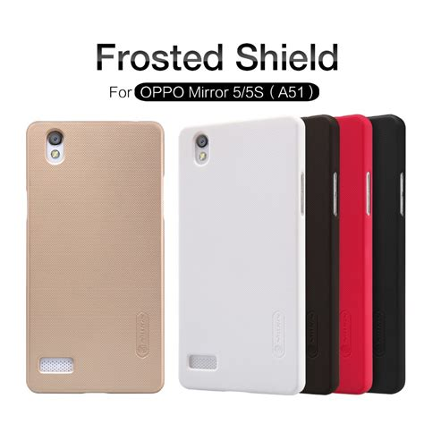 Casing Belakang Back Cover Oppo Mirror 5 oppo mirror 5 oppo mirror 5s oppo a51 nillkin frosted shield back cover