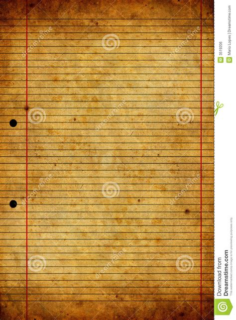 How To Make Vintage Paper - and worn paper texture royalty free stock image