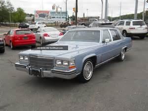 1983 Cadillac Fleetwood Brougham 1983 Cadillac Fleetwood Brougham D Elegance