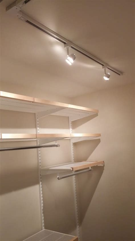 Track Lighting Closet by Track Lighting For A Closet Yelp