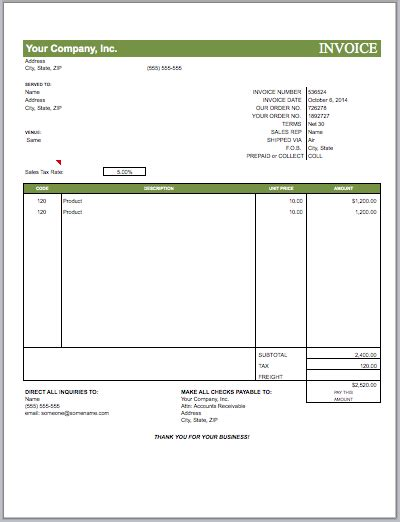Marketing Invoice Template advertising agency invoice template free invoice templates