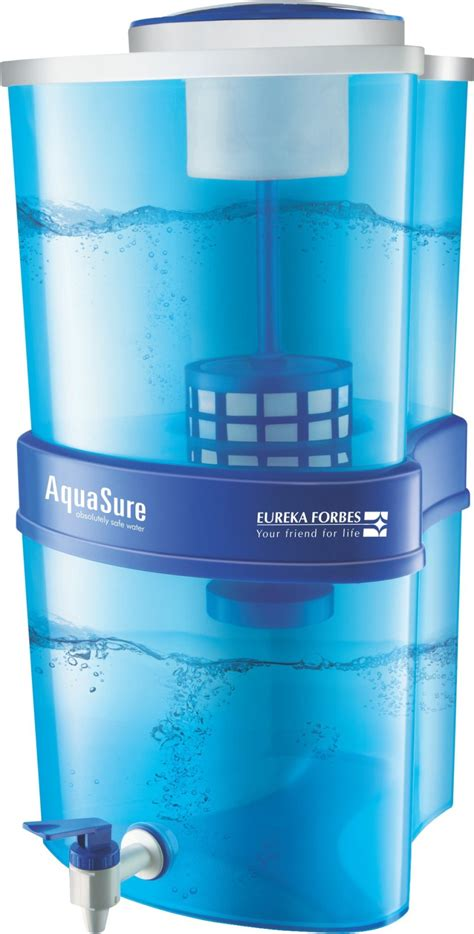 Forbes Xtra Tuff Water Purifier eureka forbes aquasure xtra tuff 15 l gravity based water