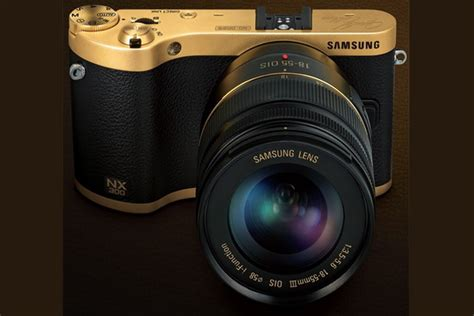 Kamera Samsung Nx300 Pozla艷ena Samsung Nx300 Kamera Luksuzni Portal Moda Stil Trendovi Kolekcije 2018
