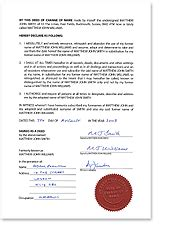 deed of gift template australia about deed polls what is a deed poll