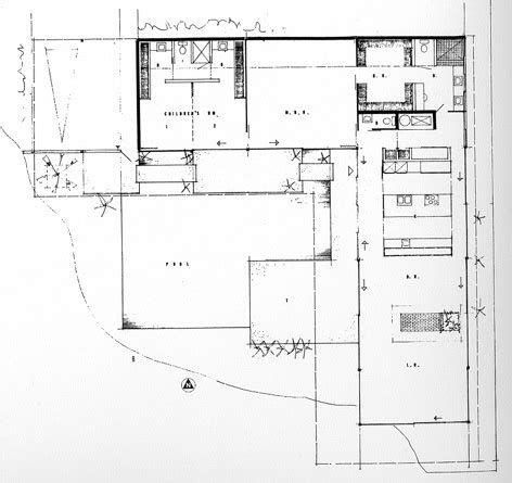 study houses floor plans 17 best images about plan on museums buckminster fuller and house