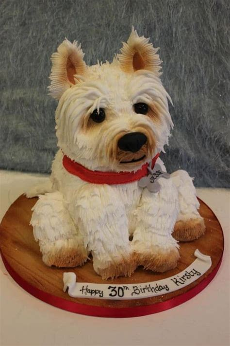 yorkie dog cake  printable template tutorial