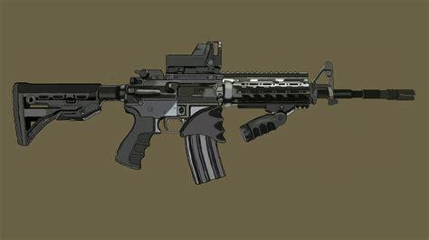 M4 Cabine by M4 Carbine Assault Rifle Amazingpal Tv