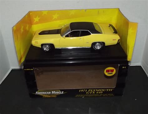 1971 Plymouth Gtx 1 18 Ertl American Koni Edition 33495 1000 images about diecast replica models on deere models and tow truck