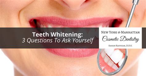 teeth whitening  questions    midtown nyc
