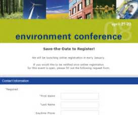 Save The Date Business Event Templates Sample Registration Forms For Events Eply