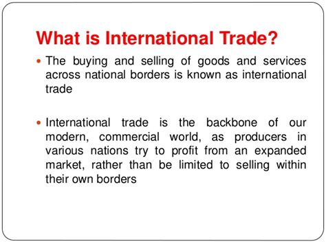 International Trade Theories Mba Notes by International Trade And Policy Introduction By Neeraj