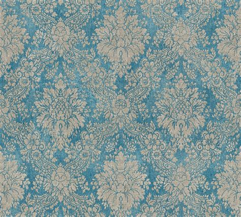 as creation tapeten tapete vlies barock vintage blau as creation 33607 5