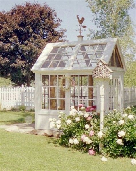 Greenhouse From Salvaged Windows Decor Salvage Window Greenhouse Garden Pinterest