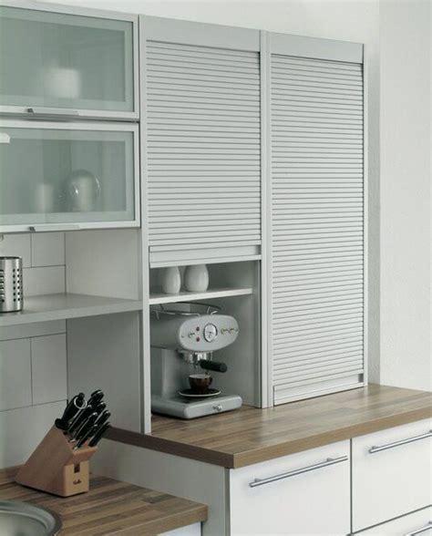 kitchen cabinet shutters roller shutters  white