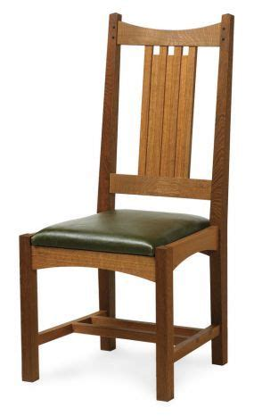 craftsman style dining chair mission western craftsman