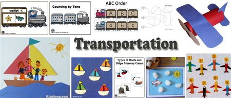 boat lesson plans for toddlers transportation planes train and ships activities crafts