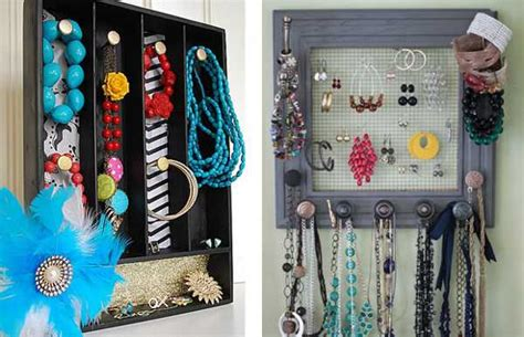 diy jewelry organizers blending unique vintage style