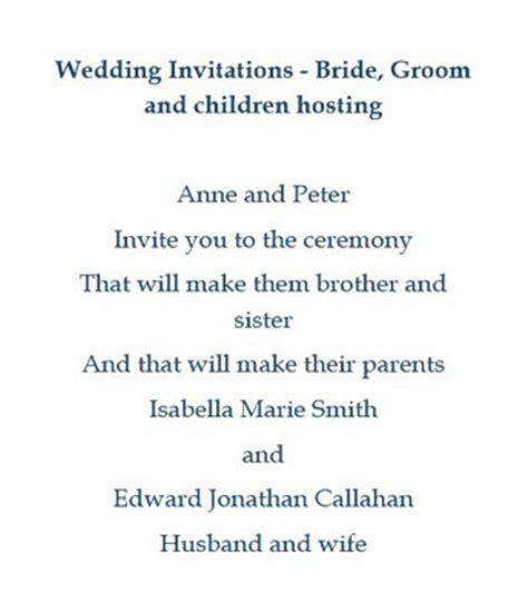 codashop jp invitation wording when bride and groom are hosting