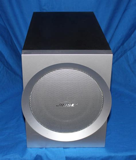 Speaker Bose Companion 3 bose companion 3 series i multimedia computer speaker system subwoofer ebay