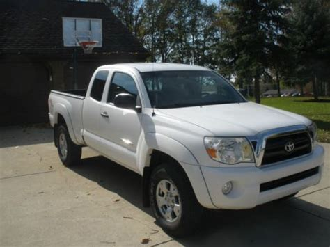 Toyota Tacoma Towing Buy Used 2006 Toyota Tacoma Access Cab 4x4 4wd V6 Trd Tow