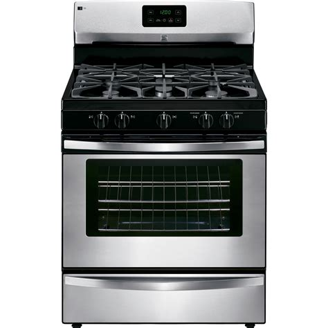 Kenmore Stove by Kenmore 73433 4 2 Cu Ft Gas Range W Broil Serve