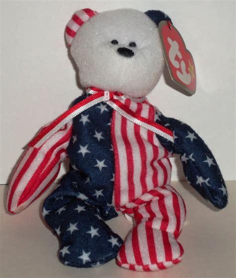 ty mcdonalds teenie beanie libearty the bear 2000 5 mcdonald s 2000 ty teenie beanie babies spangle the bear