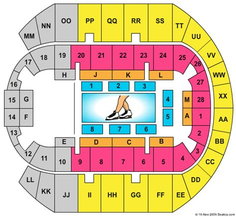 ms coast coliseum seating chart disney on 100 years of magic biloxi tickets cheap