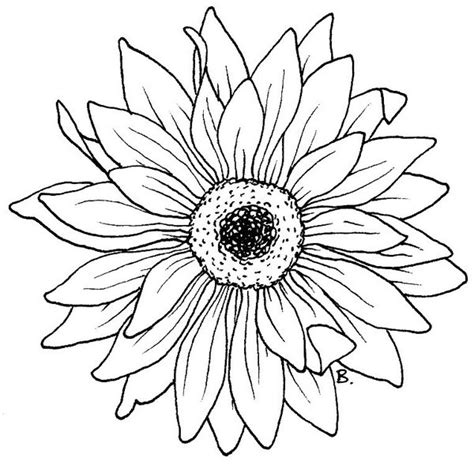 printable sunflower leaves beccy s place sunflower gerbera