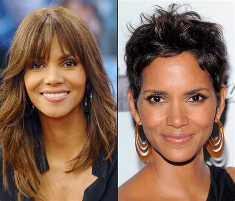 back view of halle berry hair halle berry photos hot or not stars who ve gotten