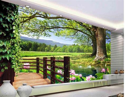 buy  room wallpaper landscape balcony
