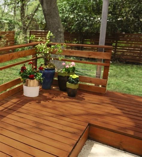 find the color wood stain for your deck using this guide backyard and
